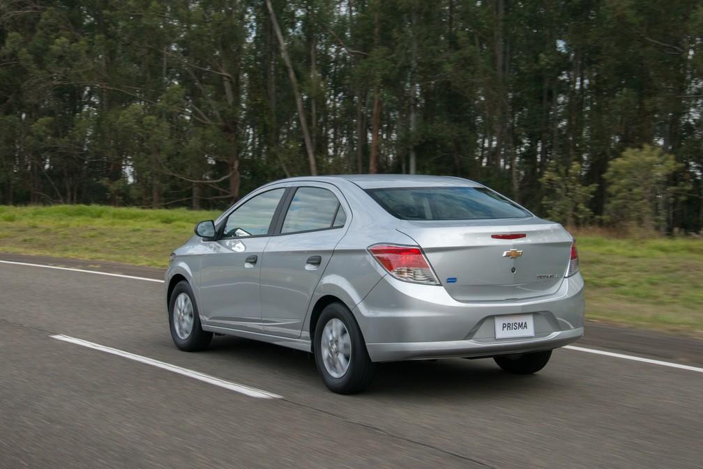 Chevrolet Prisma Joy (Foto: Divulgação)