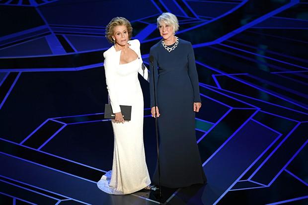 Jane Fonda e Helen Mirren (Foto: Getty Images)