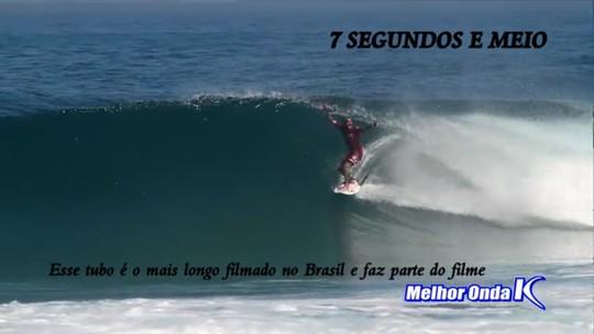 Na expectativa para Rio Pro, Raoni aparece em tubo mais longo filmado no Brasil