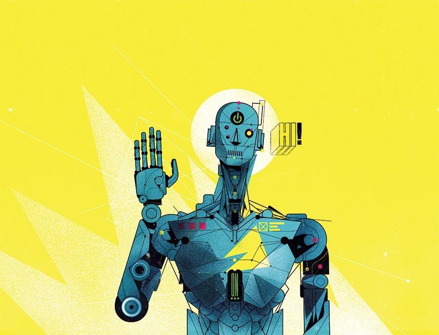 Meu robô, minhas regras (Foto: Ilustração: Denis Freitas)