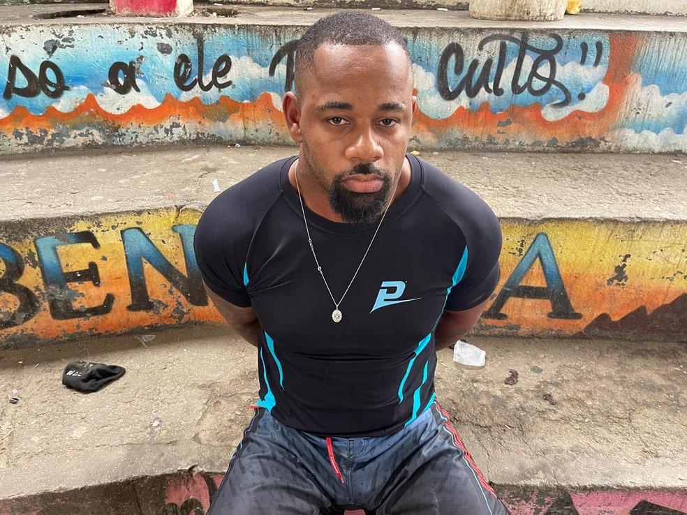 Macaquinho foi preso por Força-Tarefa da Polícia Civil dois meses depois da morte de Ecko — Foto: Reprodução/Arquivo Pessoal