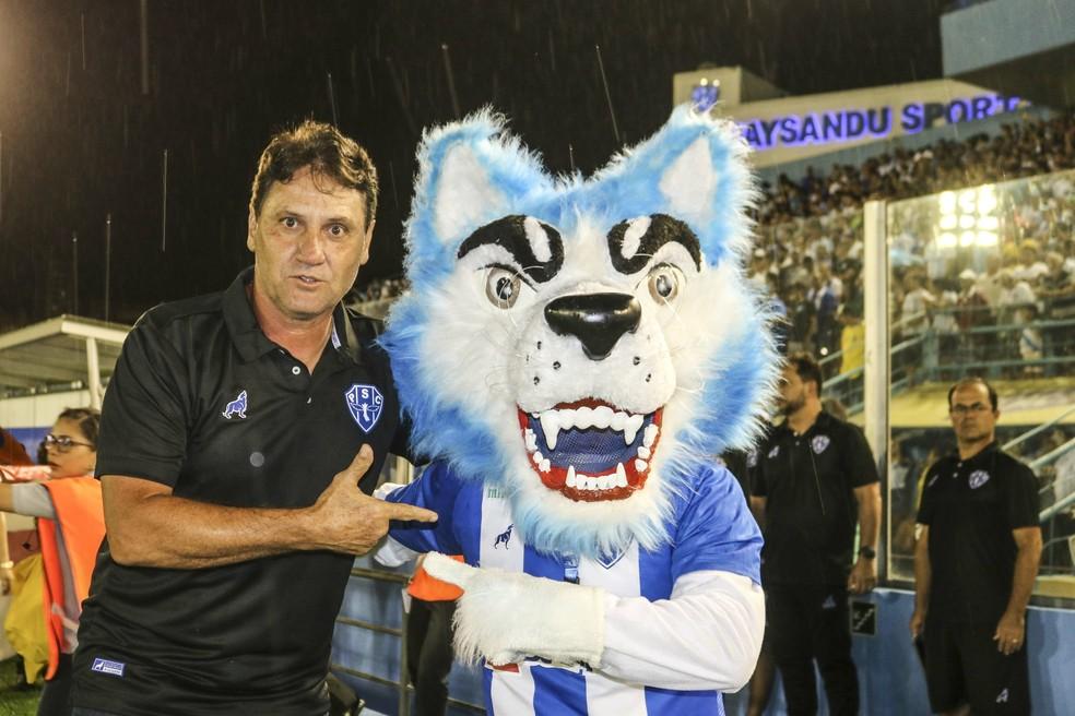 João Brigatti técnico Paysandu  — Foto: Jorge Luiz/Ascom Paysandu