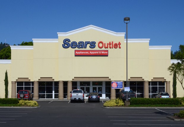 Outlet da Sears no Oregon, Estados Unidos (Foto: Steve Morgan/Wikicommons)