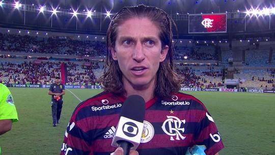 """Filipe Luís elogia momento do Flamengo, mas mantém pés no chão: """"Não tem nada feito"""""""