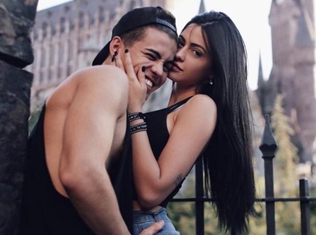 Biel e Duda Castro (Foto: Reprodução / Instagram)