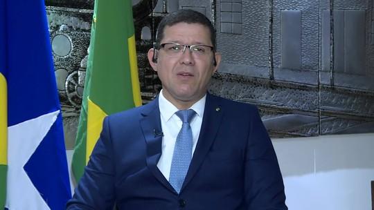 Governador de RO, Marcos Rocha, diz que barragens do estado não oferecem grande risco