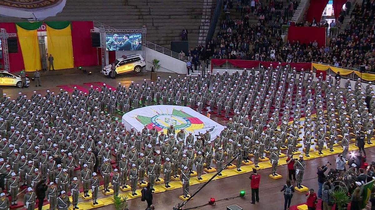 Estado forma novos policiais militares e promete efetivo mínimo em cada município do Rio Grande do Sul