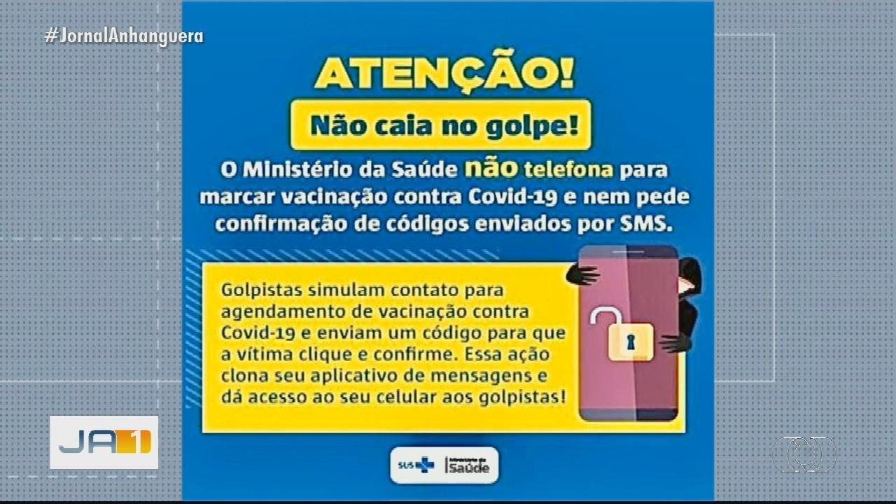 Secretaria de Saúde diz como será vacinação em Goiás e alerta para possíveis golpes