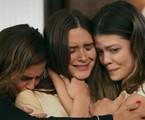 Alexia (Deborah Secco), Luna (Juliana Paiva) e Kyra (Vitória Strada)  | TV Globo
