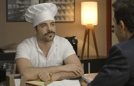 Na quarta (23), Abel (Pedro Carvalho) pedirá Britney (Glamour Garcia) em casamento, mas ela não aceitará Reprodução