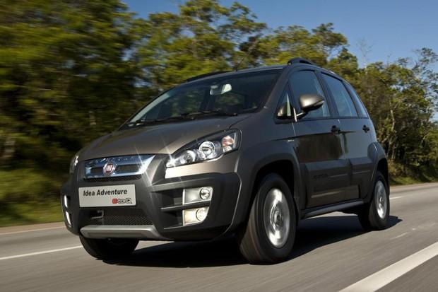 Fiat Idea Adventure 2011 já vinha com o facelift de 2010 (Foto: Divulgação)