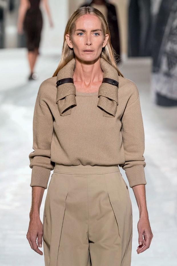 Georgina Grenville no verão 2021 da Hermès.  (Foto: Getty Images, Imax Tree e Divulgação)
