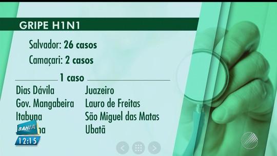 Idoso morre com H1N1 em Serrinha, na Bahia, diz Núcleo de Saúde