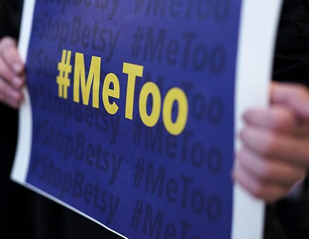 O movimento #MeToo entrou para a lista dos mais influentes da ArtReview (Foto: Getty Images)