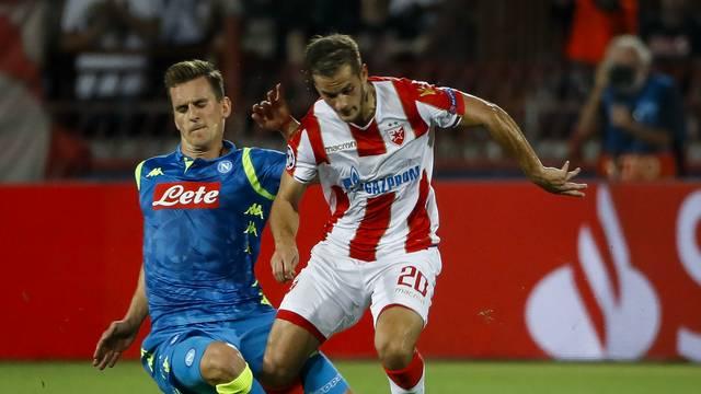 Estrela Vermelha e Napoli não saíram do 0 a 0