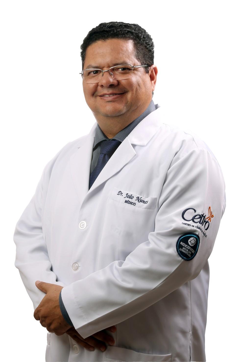 Dr. João Nunes de Matos Neto, médico oncologista e mastologista do CETTRO — Foto: Divulgação
