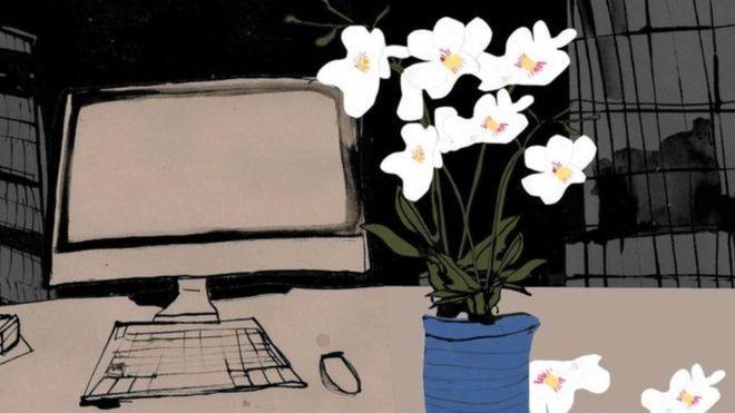 Para muitas empresas, morte de funcionário é um tema tabu e não sabem como lidar quando isso ocorre (Foto: Katie Horwich/BBC)