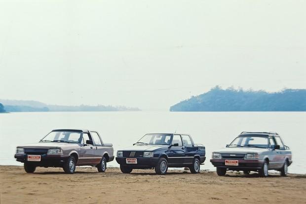 Small Fiorino, Pampa and Saveiro pickup trucks, (Photo: Carlos de Paula)
