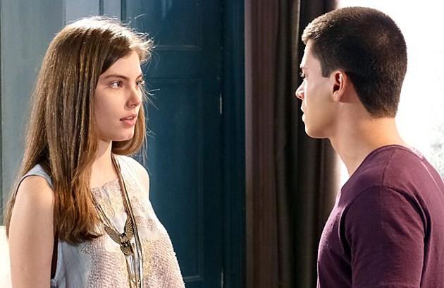 Depois de muitos obstáculos, Duca e Bianca terminaram juntos. Ela virou uma atriz de sucesso e ele conseguiu abrir sua academia (Foto: Globo)