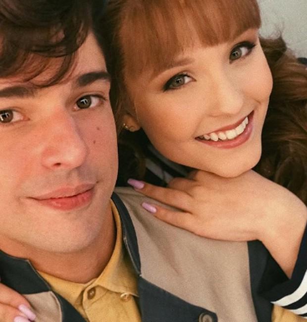 Diego Montez e Larissa Manoela (Foto: Reprodução/Instagram)