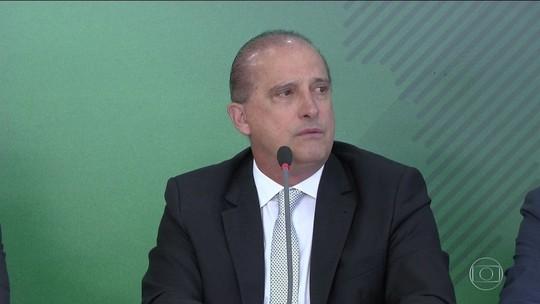 Em áudio a caminhoneiro, Onyx diz que governo deu 'trava' na Petrobras