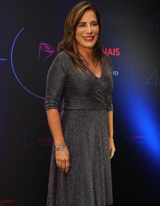 Glória Pires no Prêmio Profissionais do Ano (Foto: Eduardo Saraiva)