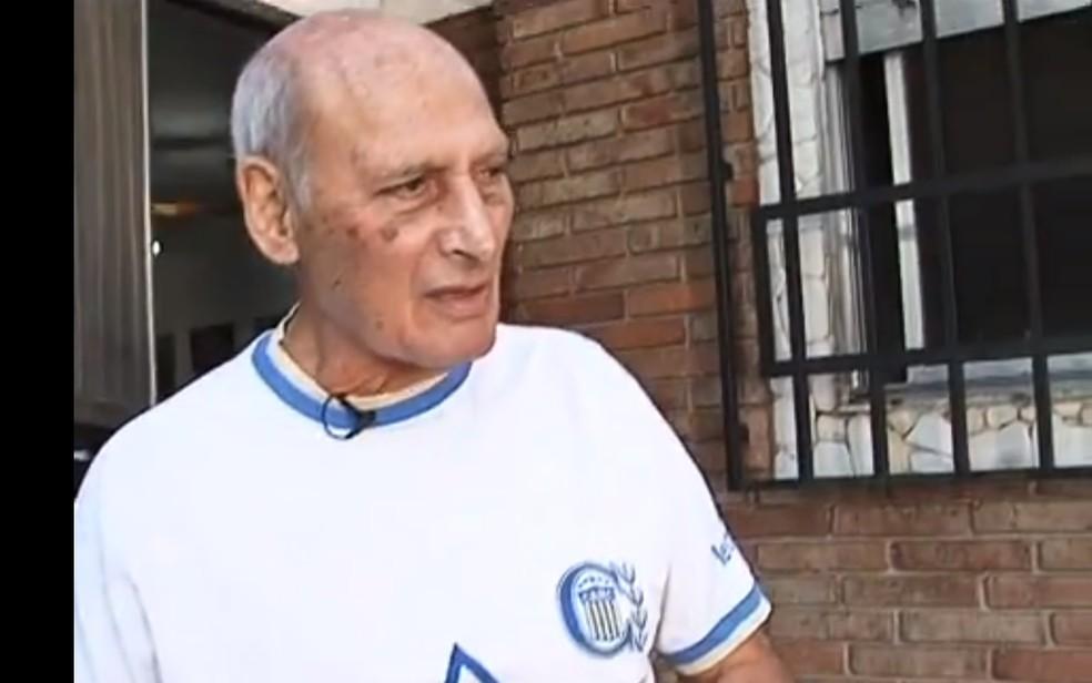 Andrada tinha 80 anos e vivia em Rosário, na Argentina — Foto: Reprodução/SporTV