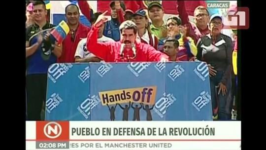 Maduro diz que não é mendigo e está disposto a comprar toda comida que o Brasil quiser vender