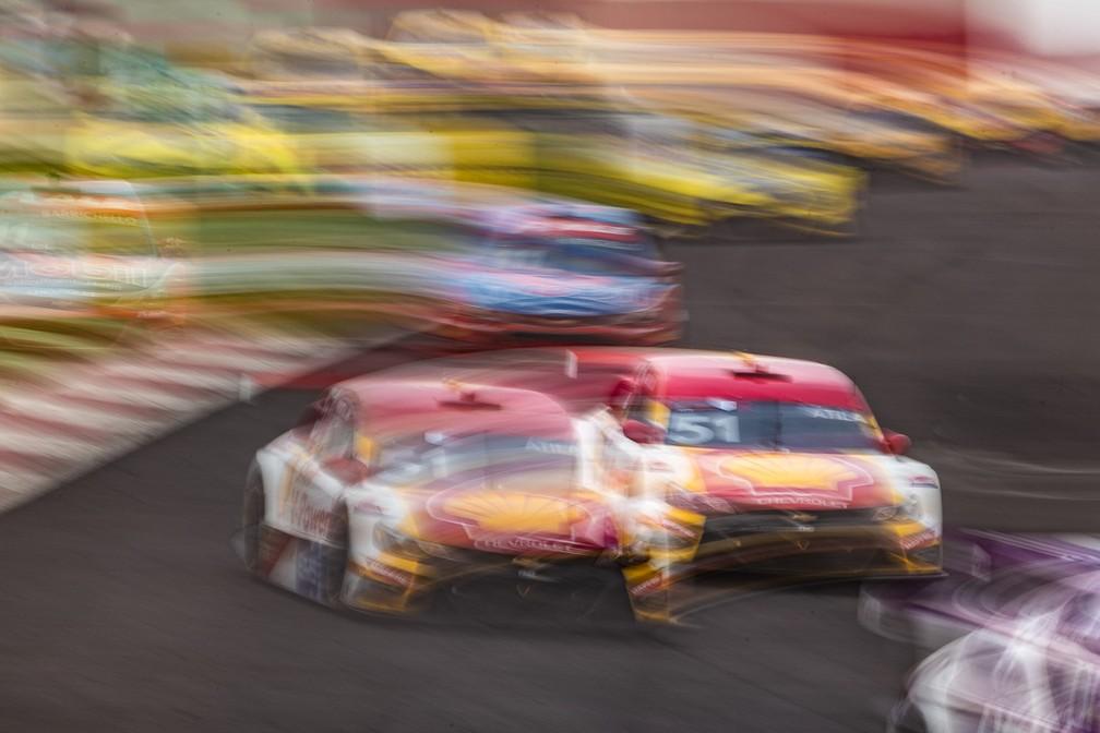 Átila Abreu venceu a corrida 2 da etapa de Cascavel da Stock Car — Foto: José Mário Dias