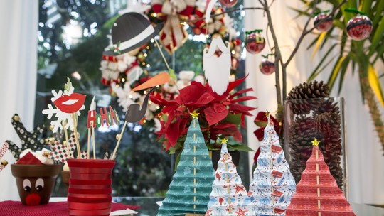 Enfeites de Natal: baixe os moldes e faça em casa