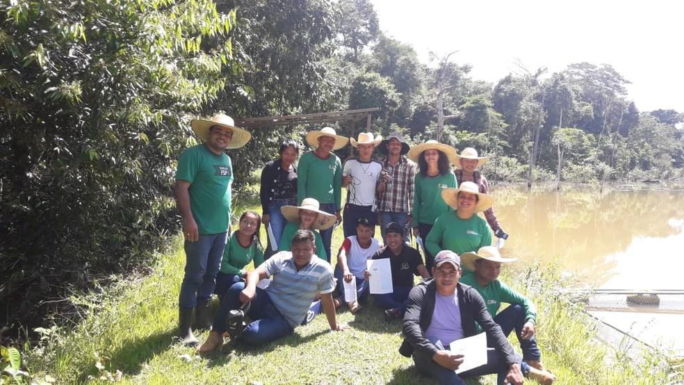 Trabalho foi defendido pelos alunos no último dia 6 de junho na II Semana do Meio Ambiente.  — Foto: Uiles Oliveira/Arquivo pessoal
