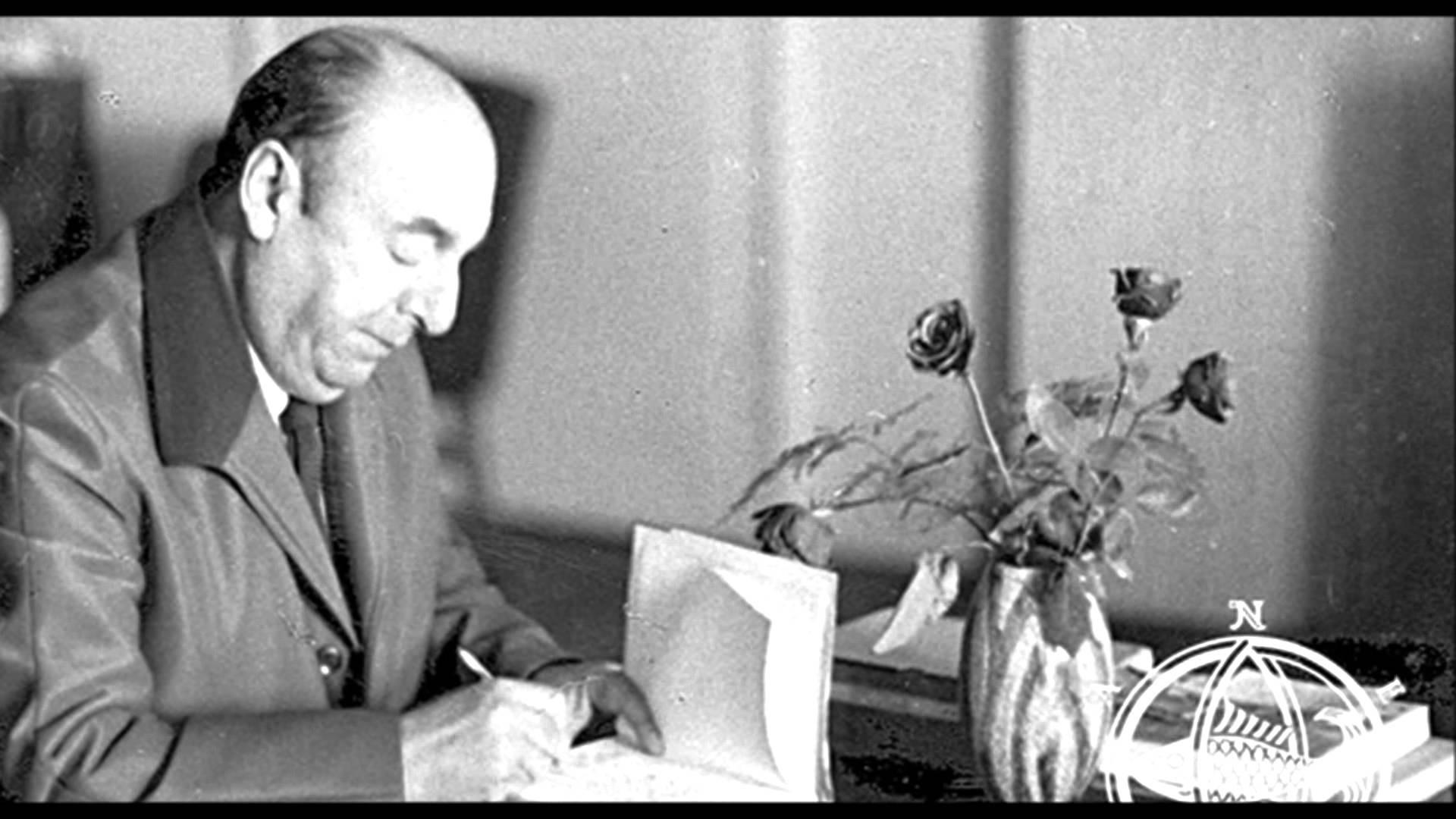 O escritor Pablo Neruda (Foto: Reprodução)