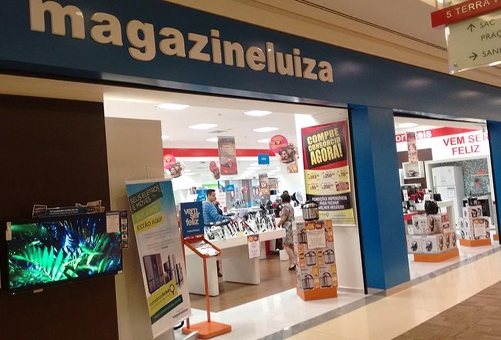 Unidade do Magazine Luiza no Ribeirão Shopping — Foto: Divulgação