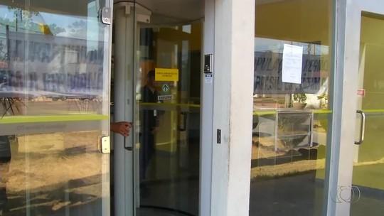 Cidades do Tocantins devem ficar sem bancos por causa do medo de assaltos