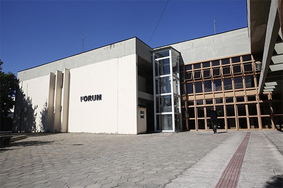 Advogado foi preso no fórum, enquanto consultava processo de cliente (Foto: TJSP/Divulgação)