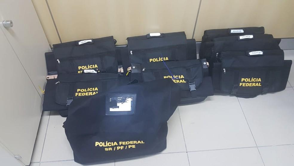 Operação Déjà Vu faz parte da segunda fase da Operação Tabocas, deflagrada em março de 2018 — Foto: Polícia Federal/Divulgação