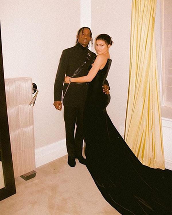 Kylie Jenner e Travis Scott (Foto: Instagram)