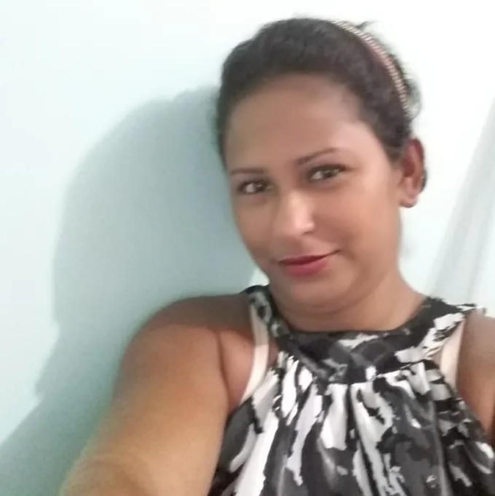 Dona de casa morta pelo ex-companheiro, em Manaus — Foto: Eliana Nascimento/G1