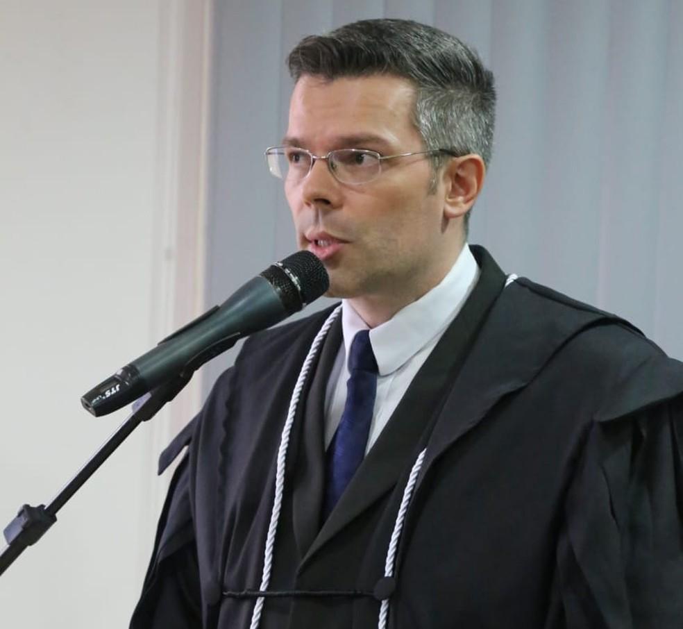 Marcelo Moreira atuará em Pacaraima — Foto: Divulgação/TJRR