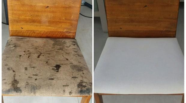 Antes e depois de serviços da CleanNew (Foto: Divulgação)