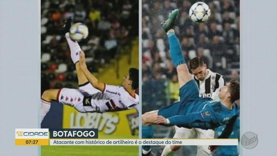 Autor do gol de bicicleta na vitória do Botafogo-SP, Henan foi forjado no futebol amador