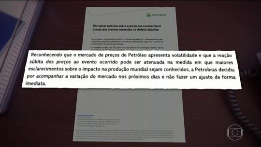 'Petróleo quem resolve é a Petrobras', diz Paulo Guedes