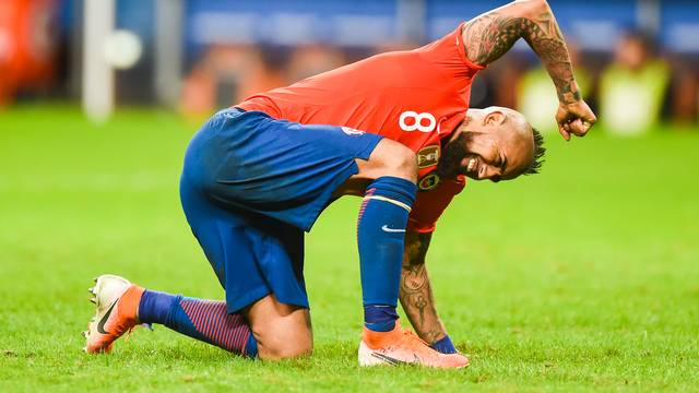 Vidal lamenta derrota do Chile