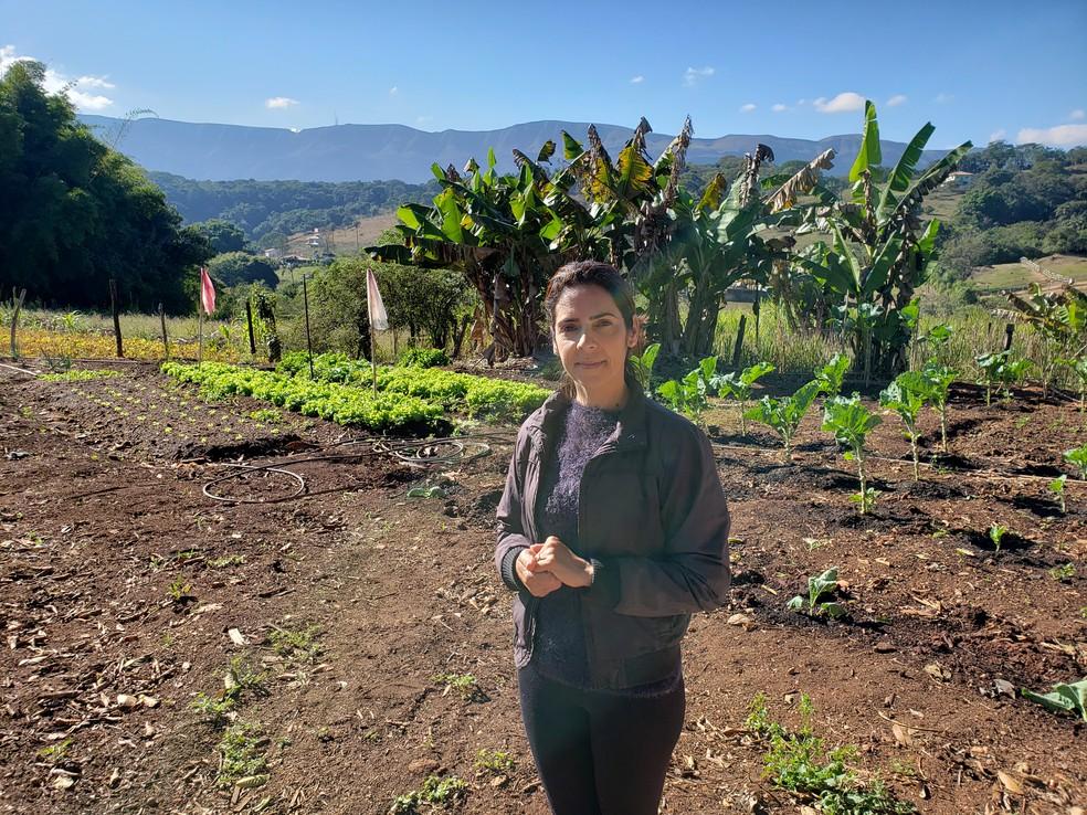 A família de Lucilaine fez empréstimo em agosto de 2018 para investir na produção. Prejuízo passa de R$ 10 mil — Foto: Patrícia Fiúza