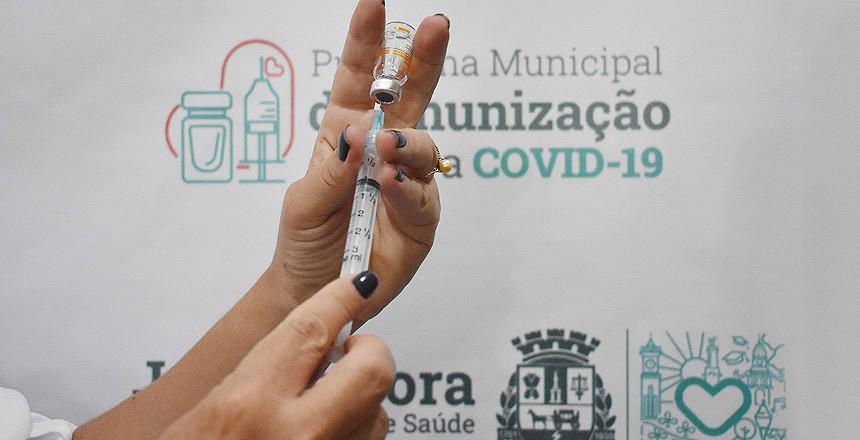 Prefeitura abre pré-cadastro de vacinação contra a Covid-19 para pessoas com comorbidades de 18 anos ou mais em Juiz de Fora