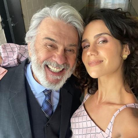 Zécarlos Machado e Branca Messina (Foto: Arquivo pessoal)