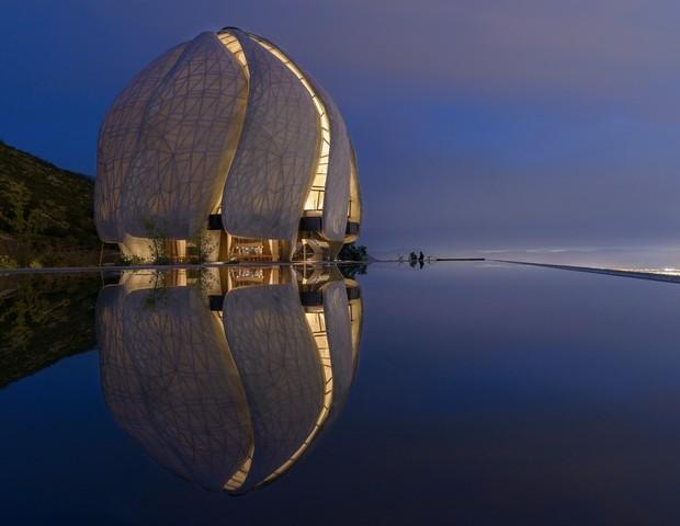 Templo no Chile é eleito o edifício do ano em prêmio de arquitetura internacional (Foto: Divulgação )