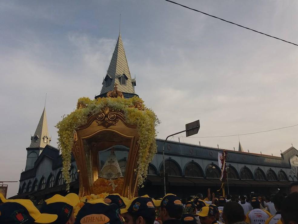 Belém espera receber 78 mil turistas durante o Círio 2017, revela Setur (Foto: Divulgação/Basílica Santuário de Nazaré)