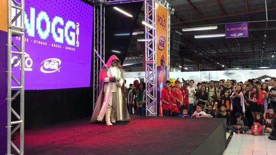 De Malévola a Anakin Skywalker, Harry Potter e até Stan Lee, cosplayers apostam na criatividade para o ABNOGG