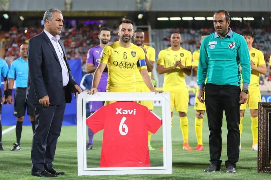 Aos 39 anos, Xavi se aposenta com derrota do Al Sadd para Persepolis na Liga dos Campeões da Ásia